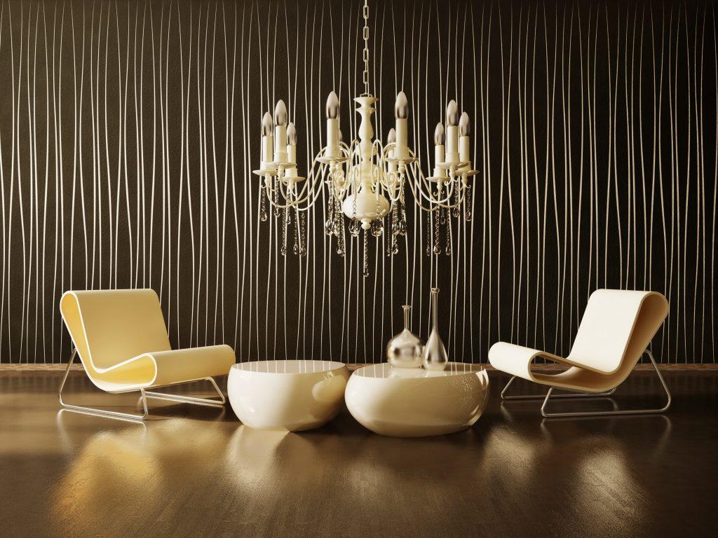 luksusowe wnętrze w nowoczesnej aranżacji