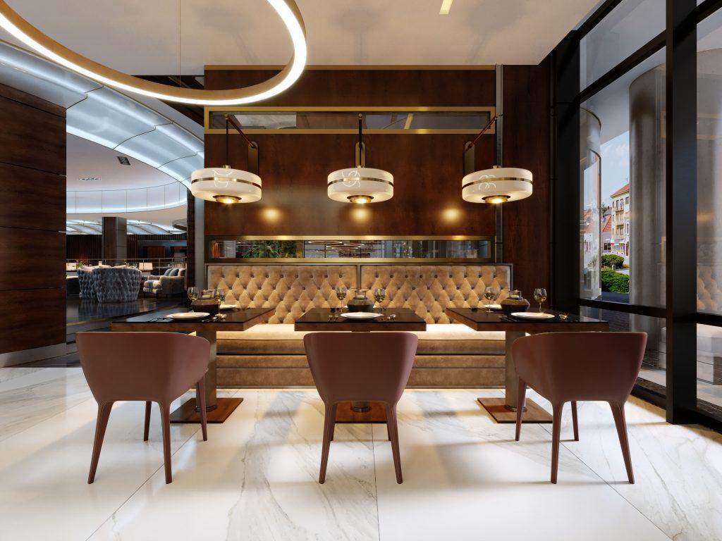 modne lampy wiszące do restauracji