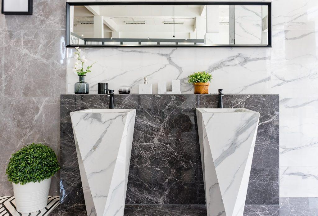 stylowe umywalki łazienkowe wolnostojące